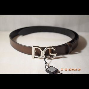 Dolce & Gabbana Accessories - D&G Leather Belt
